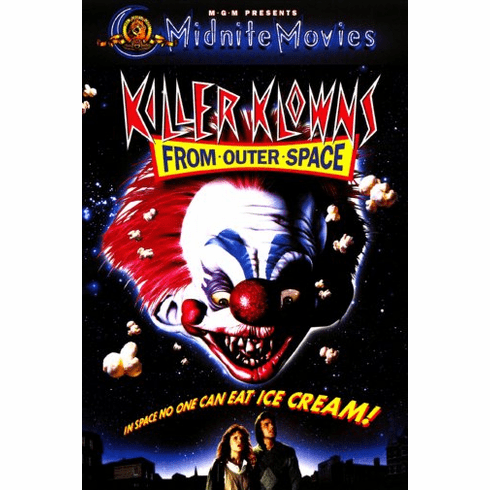 Killer Klowns From Outer Space Movie Poster 24inx36in