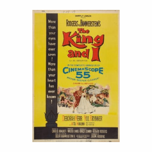 King And I The Movie Poster 24inx36in