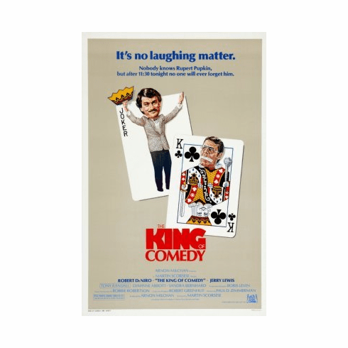 King Of Comedy Mini Poster 11x17