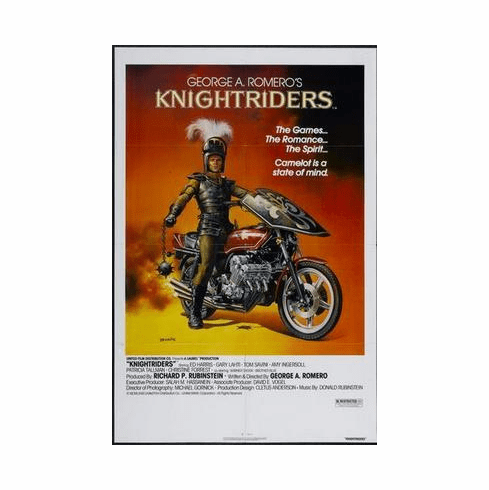 Knightriders Movie Poster 24in x36 in