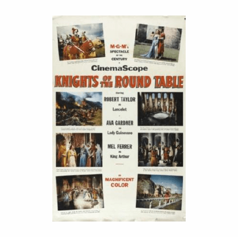 Knights Of The Round Table Movie Poster 24inx36in