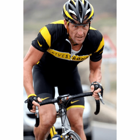 Lance Armstrong Poster Cycling 24inx36in