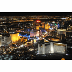 Las Vegas Poster The Strip At Night 24inx36in