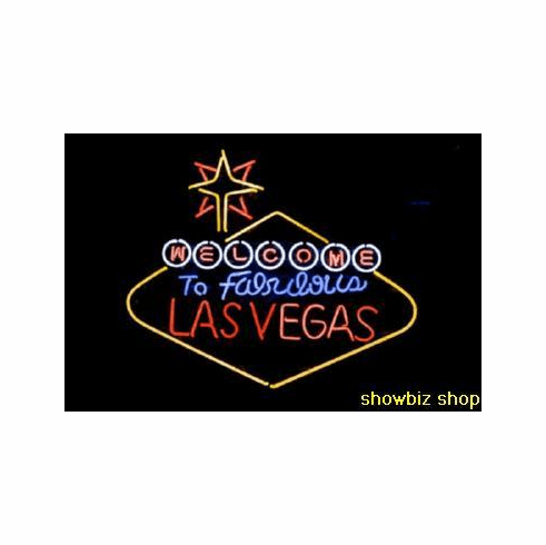Las Vegas Sign Poster Welcome To Fabulous Lv 24inx36in