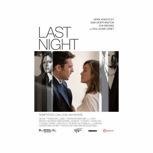 Last Night Movie Poster 24x36