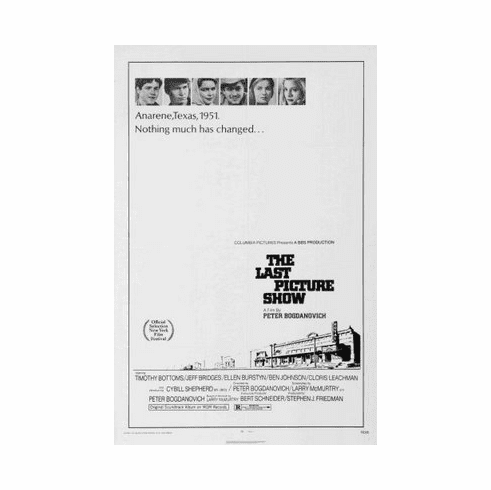 Last Picture Show Movie mini poster 11x17 #01