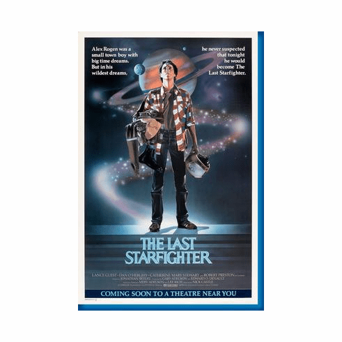 Last Starfighter The Movie Poster 24inx36in