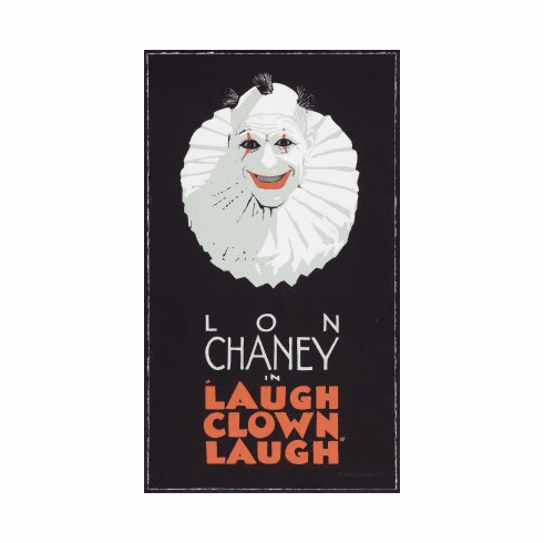 Laugh Clown Laugh Movie Poster 24x36