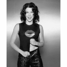 "Lauren Graham Black and White Poster 24""x36"""