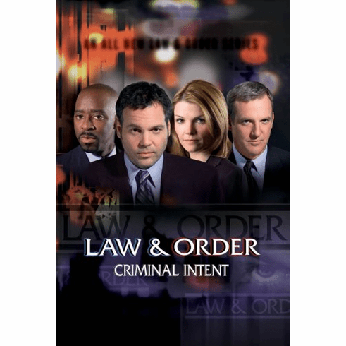 Law And Order Criminal Intent Movie Poster 24inx36in