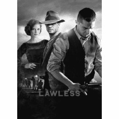 "Lawless Black and White Poster 24""x36"""
