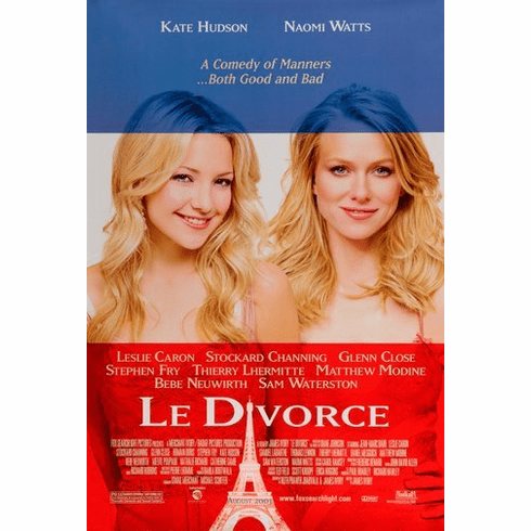 Le Divorce Movie Poster 24Inx36In Poster