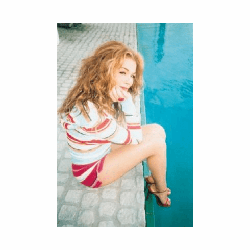 Leann Rimes Poster Poolside Shorts 24inx36in