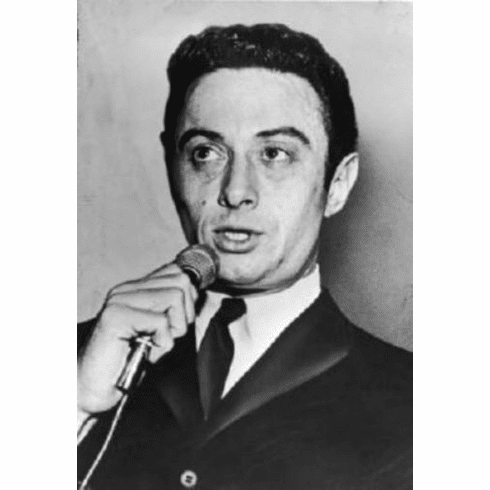 """Lenny Bruce Black and White Poster 24""""x36"""""""