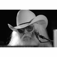 """Leon Russell Black and White Poster 24""""x36"""""""