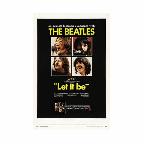 Let It Be Movie Poster 11x17 Mini Poster