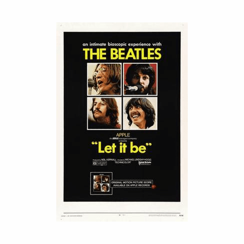 Let It Be Movie Poster 24in x36 in