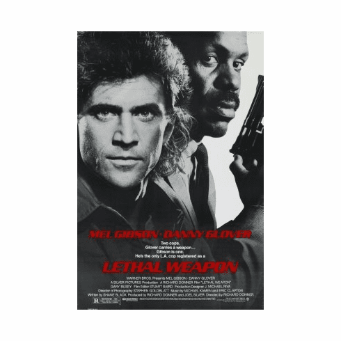 Lethal Weapon Mini Poster 11x17