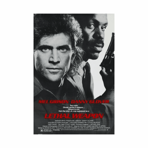 Lethal Weapon Movie Poster 24x36