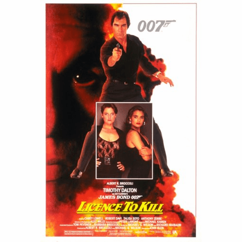 Licence To Kill Movie Poster 24inx36in