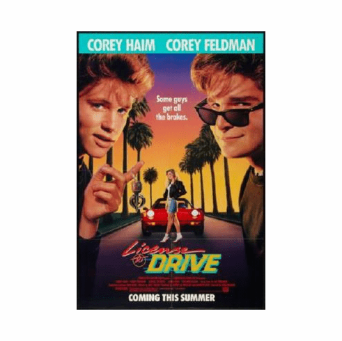 License To Drive Poster 24inx36in