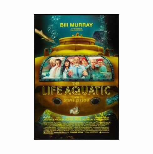 Life Aquatic The Poster 24inx36in
