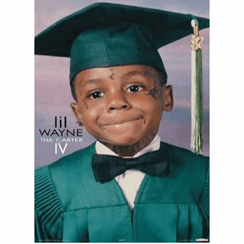 Lil Wayne Photo Young Poster 24inx36in