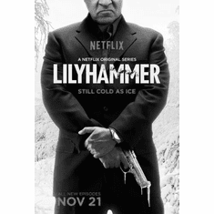 """Lilyhammer Black and White Poster 24""""x36"""""""