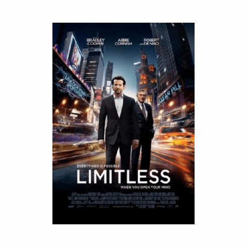 Limitless Poster 24inx36in