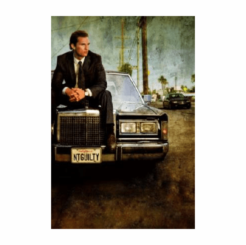 Lincoln Lawyer Movie Poster Matthew Mcconaughey 24inx36in