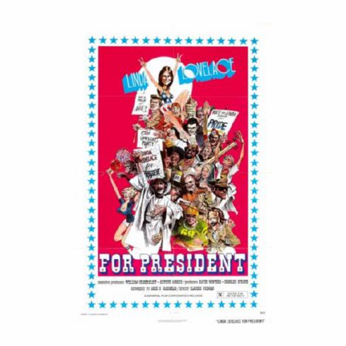 Linda Lovelace For President Movie Poster 24inx36in
