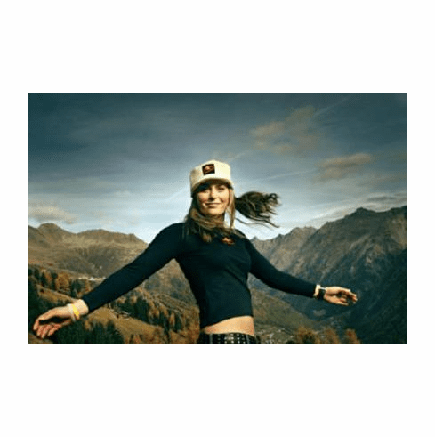 Lindsey Vonn Poster #02 Mountain Sceve 24inx36in