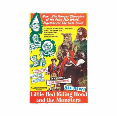 Little Red Riding Hood The Monsters Poster 24inx36in