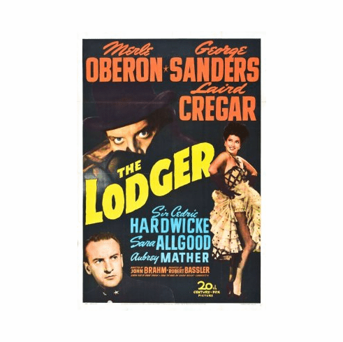 Lodger Movie Poster 24x36
