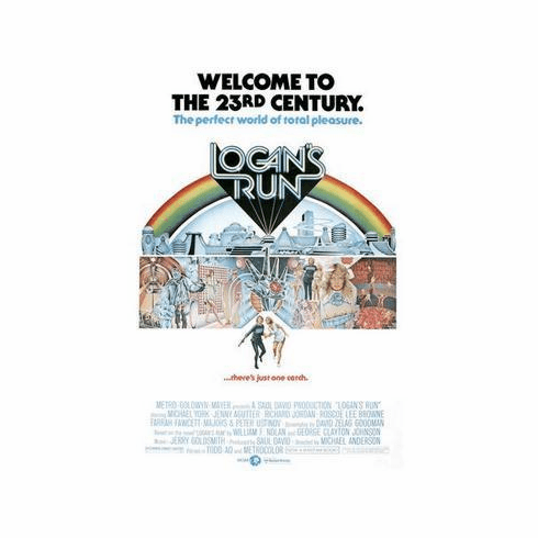 Logans Run Movie Poster 24in x36 in