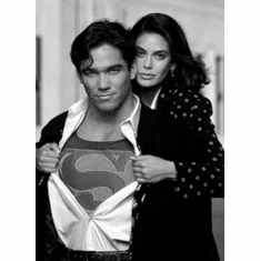 "Lois And Clark Black and White Poster 24""x36"""
