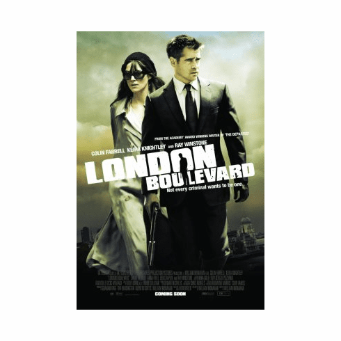 London Boulevard Movie Poster 24x36