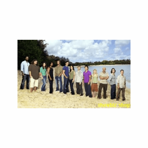 Lost Cast Poster Beach #1 24inx36in