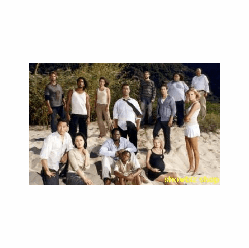 Lost Cast Poster Beach #2 24inx36in