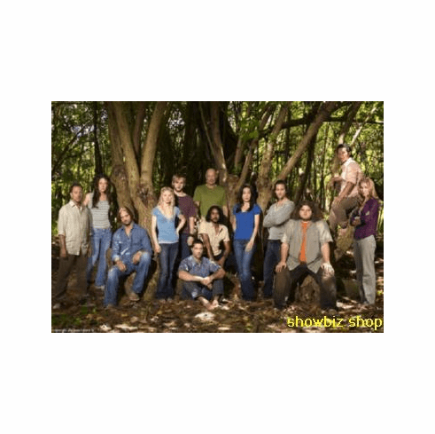 Lost Cast Poster Forest 24inx36in