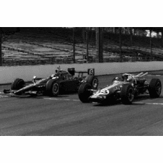 """Lotus Racers Black and White Poster 24""""x36"""""""