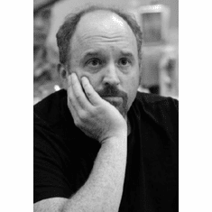 """Louis Ck Black and White Poster 24""""x36"""""""