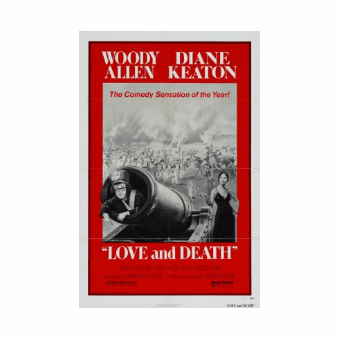 Love And Death Movie Poster 24x36