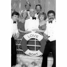 "Love Boat The Black and White Poster 24""x36"""