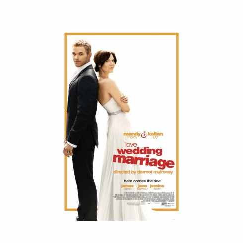 Love Wedding Marriage Movie Poster 24x36