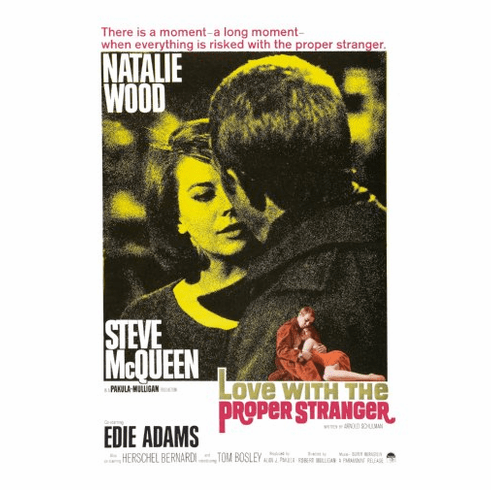 Love With The Proper Stranger Movie Poster 24inx36in