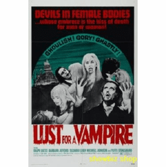 Lust For A Vampire Movie 8x10 photo Master Print