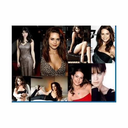 Lyndsy Fonseca Collage Poster 24inx36in