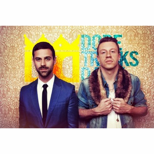 macklemore and ryan lewis 8x10 photo