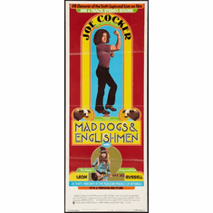 Mad Dogs And Englishmen 14x36 Insert Movie Poster